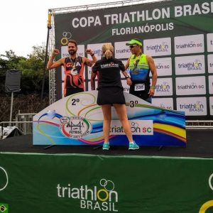 Atleta do IMG conquista medalha na segunda etapa da Copa Triathlon Brasil