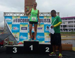 Atleta do Instituto Mara Gabrilli é campeã da 2° Corrida e Caminhada Paulista North Way Run