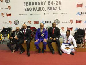 Atleta do Instituto Mara Gabrilli é classificado para o Campeonato Mundial de Jiu-Jitsu de Abu Dhabi