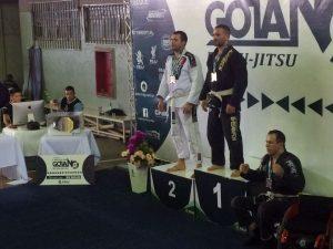 Atleta do Instituto Mara Gabrilli é destaque na 1ª Etapa do Circuito Goiano de Jiu-Jitsu