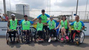 Atletas do Instituto Mara Gabrilli dominam pódios na 1ª etapa da Copa Brasil de Paraciclismo