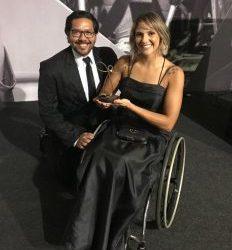 Prêmio Paralímpicos 2018: atleta do Instituto Mara Gabrilli é eleita melhor triatleta do ano